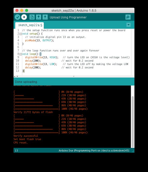 arduino-ide-blink-code